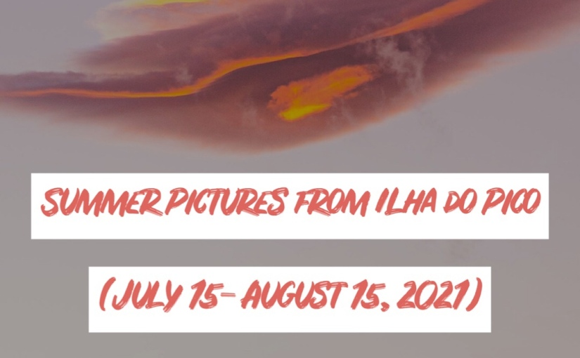Summer Pictures from Pico Island (July 15- August 15,2021)
